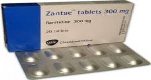 Zantac Ranitidine 300mg GSK