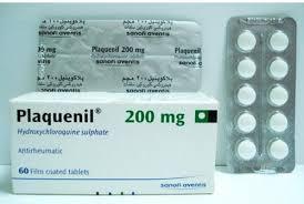 Plaquenil  Hydroxychloroquine sulphate 200mg  Sanofi 100Tablets