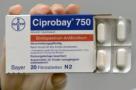 Ciprobay Ciprofloxacin 750mg 40 Tablets