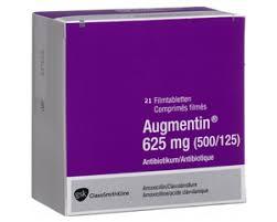 Augmentin 625mg 50 Tablets