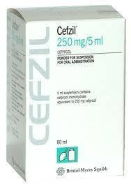 Cefzil  Cefprozil 250mg  BMS 24 Tablets