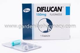 Diflucan Fluconazole 150mg 4 Caps