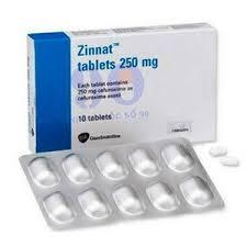 Zinnat Cefuroxime 250mg  GSK 20Tablets