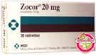 Zocor Simvastatin 20 mg MSD 35 comprimés